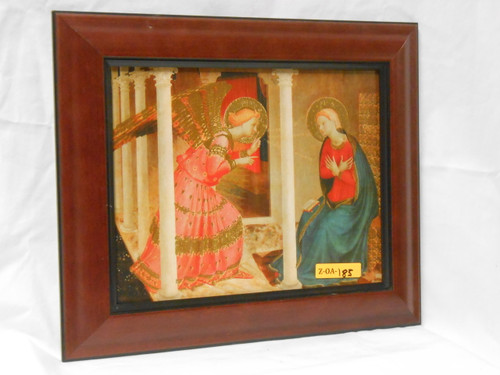 The Annunciation 8x10 Framed Print