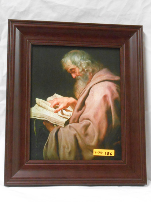 St. Matthew 8x10 Dark Framed Print