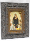 Queen of the Angels 5x7 Ornate Dark Framed Print