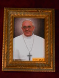 Pope Francis 5x7 Gold Framed Print