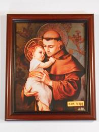St. Anthony of Padua 8x10 Simple Framed Print