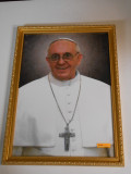 Pope Francis Formal 14x19 Dark-Framed Print
