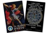 St. Michael Air Force Prayer Card