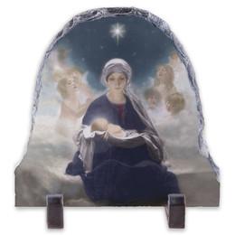 Star of Bethlehem by Bruno Piglhein Arched Slate Tile