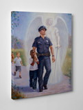 The Protector Gallery Wrapped Canvas