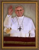 Pope Francis Arrives on Balcony (Alternate Background)