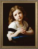 La Priere - Standard Gold Framed Art