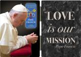 Pope Francis in Prayer Commemorative Apostolic Journey Diptych