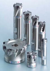 """APX3000UR102SA10SA 5/8"""" Mitsubishi Carbide Indexable End Mill"""