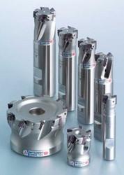 """APX3000UR164SA12SA 1"""" Mitsubishi Carbide Indexable End Mill"""