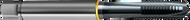 M3 x 0.50 NC Tap Spiral Point TiCN POWER TAP GUHRING