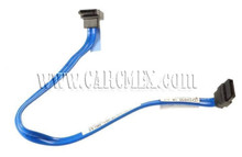 DELL CABLE SERIAL ATA DATA TO HARD DRIVE 10.5 PULG BLUE STRAIGHT TO RIGHT ANGLE REFURBISHED DELL MK524, M8098, P704D