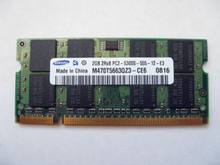 DELL LAPTOP LATITUDE D630 MEMORIA 2GB SODIMM  DDR2  667 MHZ ( PC2-5300) NEW MEMORY STICK
