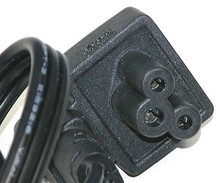 DELL CABLE PARA  PA-4E, PA-10 AND PA-12  ADAPTADOR LAPTOP 3 PRONG CUADRADO NEW DELL  FX429