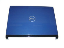 DELL INSPIRON 1318 LCD BLUE BACK COVER, BLACK TRIM COVER W/CAM + HINGES NEW DELL F205H, X469D, P399H, R340H