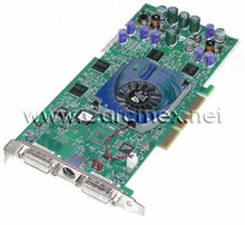 DELL PRECISION WORKSTATION 650, NVIDIA QUADRO4 900XGL 128MB 4X DUAL DVI CARD, DELL REFURBISHED, 3N245