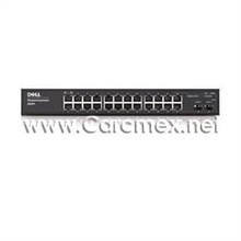 DELL POWERCONNECT 2824 SWITCH 24 1GBE PORTS, 2 PORTS WITH SFP OPTION, WEB MANAGED, NEW DELL F491K, PC2824L,224-5880