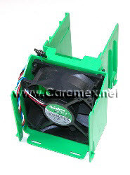 DELL DIMENSION 3000, 4600 CPU FAN + SHROUD/ ABANICO + CUBIERTA REFURBISHED DELL  F0995, H0633(TAPA), D1592, D1601, K0456