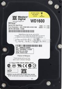 DELL HARD DRIVE WESTERN DIGITAL 160GB 7200RPM SATA-150 3.5 IN REFURBISHED DELL  WD1600SD