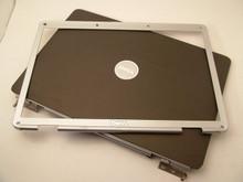 DELL INSPIRON 1525, 1526 TOP LCD BACK LID COVER + BEZEL  / TAPA EXTERIOR + BEZEL  NEW XT984 , RU676