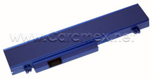 DELL LATITUDE X300, INSPIRON 300M BATTERY ORIGINAL BLUE 4 CELL  28WH / BATERIA  AZUL TYPE-F0993 REFURBISHED DELL  X0971, M0270,W0391, 312-0148