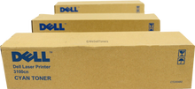 DELL IMPRESORA 3000 / 3100 TONER ORIGINAL KIT 4 (PACK) N,A,C.M (4.000 PGS) ALTA CAPACIDAD NEW DELL BCMY31C,K5364,K5361,G7030,K5362