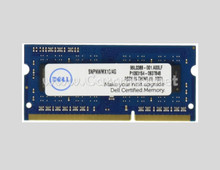 DELL Laptop Memory 4GB ORIGINAL DDR3L SDRAM SODIMM 204-PIN 1600 MHZ (PC3-12800) LV NEW DELL SNPNWMX1C/4G, A6951103