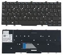 DELL LATITUDE E5440 KEYBOARD IN SPANISH/ TECLADO EN ESPAÑOL NEW DELL 8RDP7