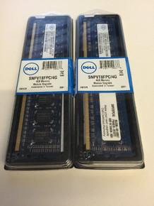 DELL PRECISION 490, 690, 690N, R5400, T5400, T7400 MEMORY RAM 8GB (2X 4GB) DDR2 PC2-5300 667MHZ FB-DIMM ECC NEW DELL A2257183