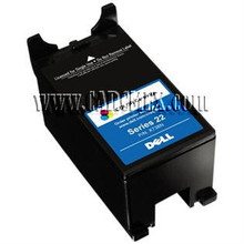 DELL  CARTUCHO V313, V313W , P513W,  V515W , P713W,  V715WSINGLE USE HIGH YIELD COLOR CARTRIDGE (SERIES 22) NEW  DELL X738N, T092N, 330-5254, A3319967