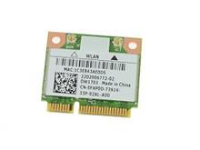 DELL INSPIRON 14Z 5423, 15 3521, 5521, 17 5721, 3721, 3520 WIRELESS DW1703 WLAN WIFI 802.11 B/G/N + BLUETOOTH HALF-HEIGHT MINI-PCI EXPRESS CARD NEW DELL FXP0D, DW1703