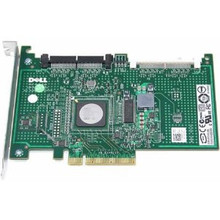 DELL POWEREDGE R210, T100, T105, T110, T310   6/IR RAID PCI-E X8 4 PORT CONTROLLER CARD  NEW DELL JW063