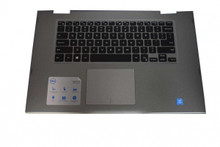 DELL LAPTOP INSPIRON 15 5568 5578 5368 5378 2 IN 1 PALMRETS, TOUCHPAD, US GENUINE KEYBOARD SPANISH BLACK,BAKCLIT  ONLY  (NO FRAME) / PALMEREST, TECLADO EN ESPAÑOL COMPLETO NEW DELL M16NSC-UBS, 0HTJC
