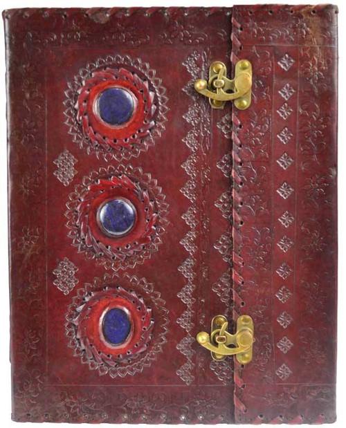 Stone  Leather Journal w/ Latch