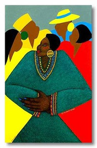Precious Limited Edition Art Print - Synthia Saint James