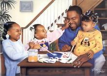 Daddy's Little Girls Art Print - Alan & Aaron Hicks