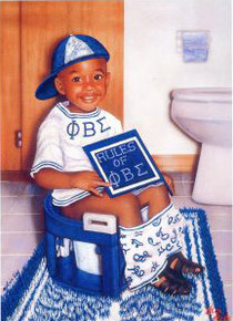 Man!, I Can't Wait (Phi Beta Sigma) Art Print - Alan & Aaron Hicks