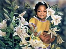 Flower Girl Art Print - Alan & Aaron Hicks
