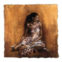 Ebony II Art Print - Ben Mogador
