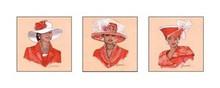 Hattitude in Red Art Print - Marcella Hayes Muhammad