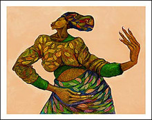 Dancing Hands Limited Edition Art Print - Charles Bibbs