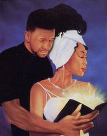 With God - We Can Art Print - Jamal Scott