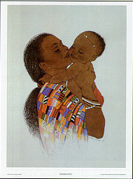 Mother Love II Art Print - Sylvia Walker