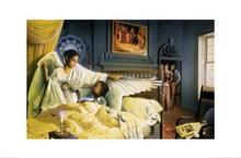 Angel of hope and Healing Art Print - Edward Clay Wright