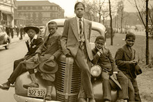 Chicago Boys, Sunday Best, 1941 (Small) Art Poster