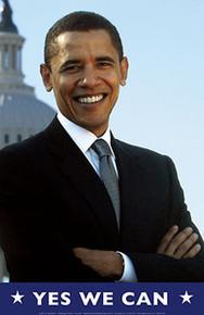 Barack Obama - Yes We Can (Capitol) Art Print