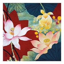 Lotus Dream II Art Print