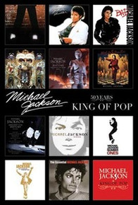 Michael Jackson Album Covers Art Poster