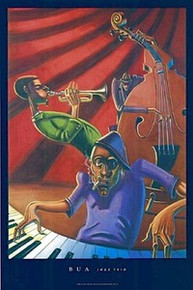 Jazz Trio Art Print - Justin Bua