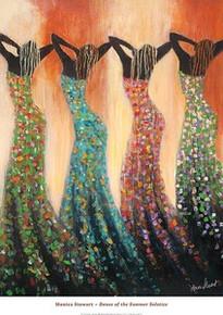 Dance of the Summer Solstice Art Print - Monica Stewart